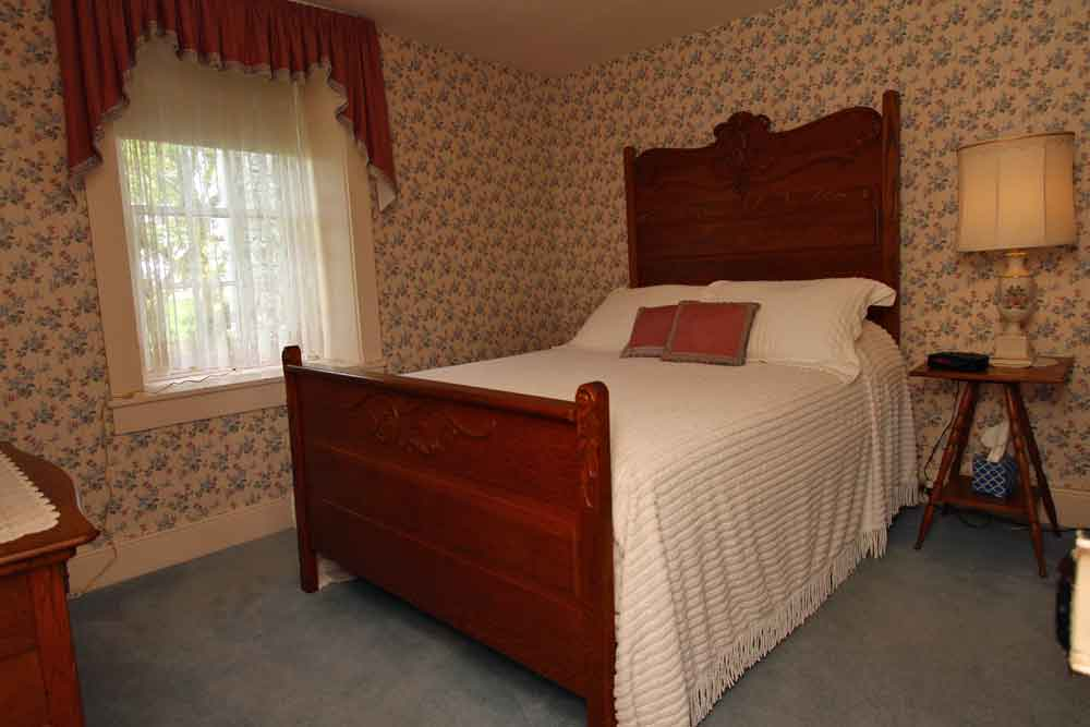 tastefully decorated bedrooms