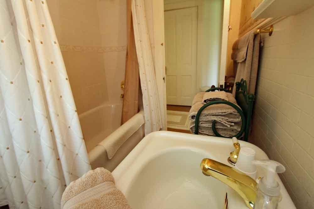 Lancaster PA farmhouse bath